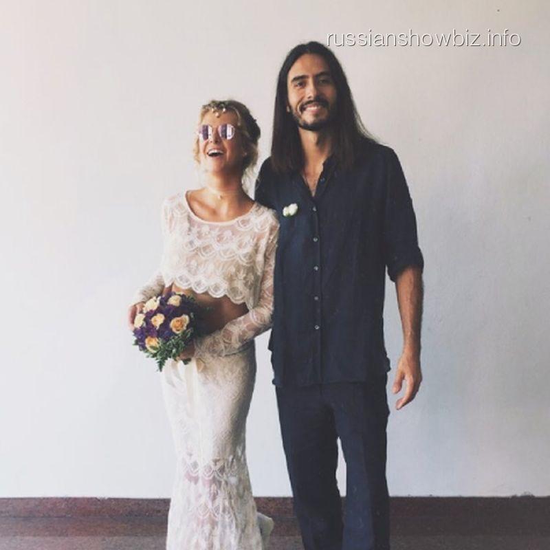 Ольга Ефремова с мужем