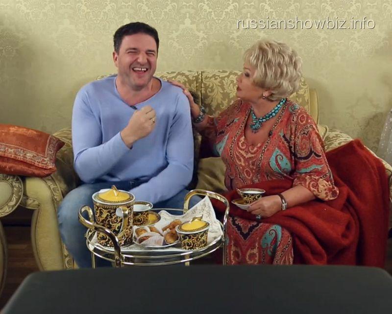 Максим Виторган и Людмила Нарусова