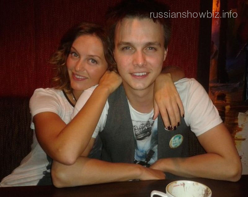 Ярослав Жалнин с женой