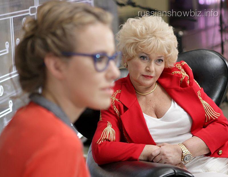 Ксения Собчак с матерью