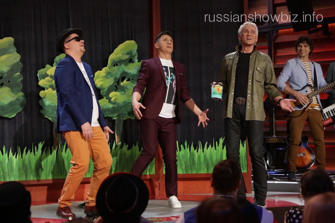 Гарик Харламов, Тимур Батрутдинов, АЛександр Маршал и Дмитрий Сорокин