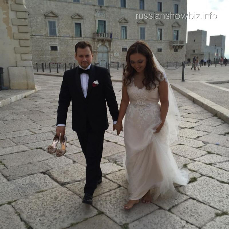 Андрей Гайдулян с женой