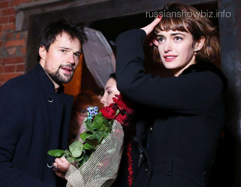 Данила Козловский с возлюбленной