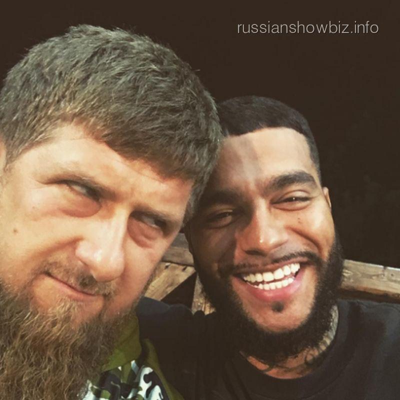 Рамзан Кадыров и Тимати