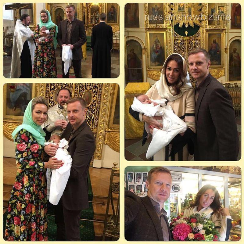 Вячеслав Малафеев с крестником