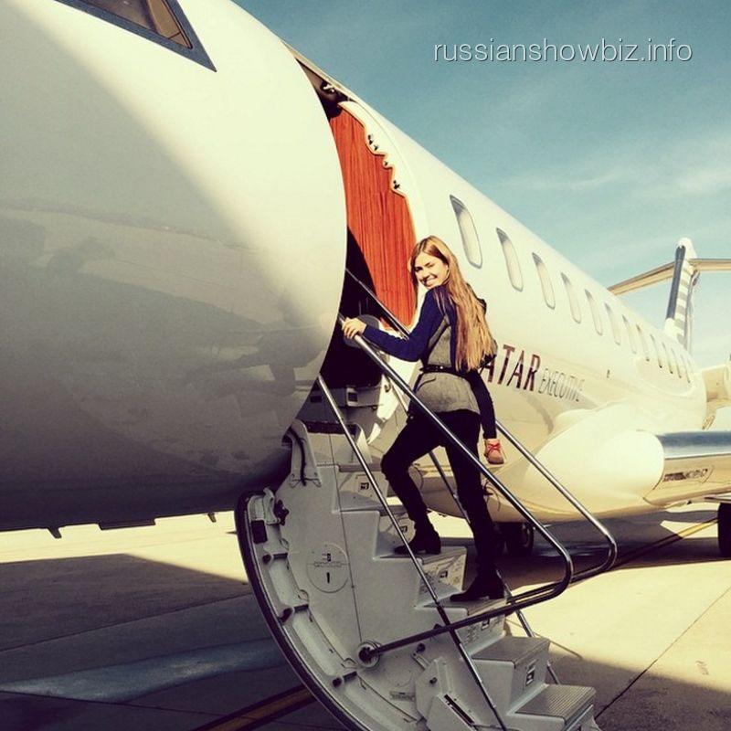Виктория Боня устроила скандал в аэропорту