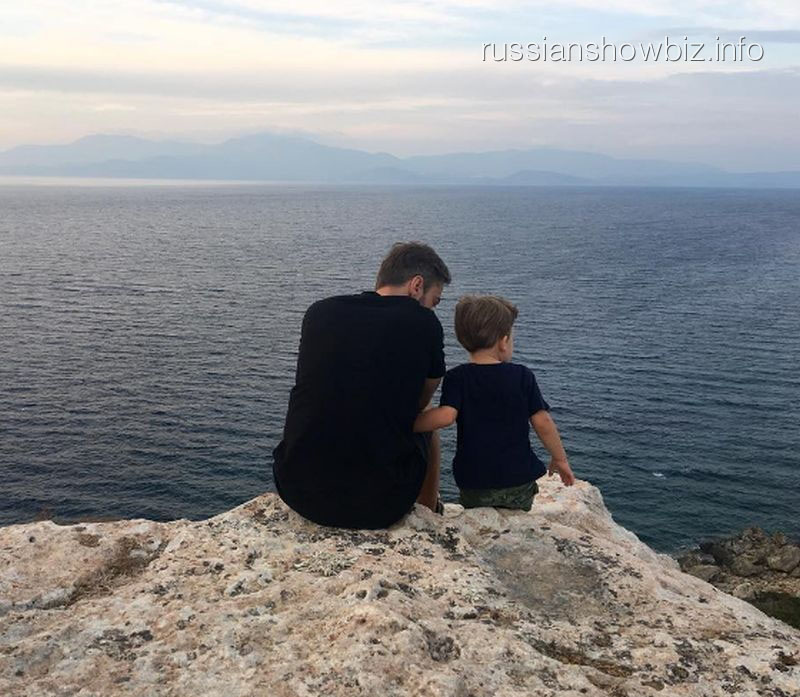 Дмитрий Шепелев выложил трогательное фото сподросшим сыном Платоном