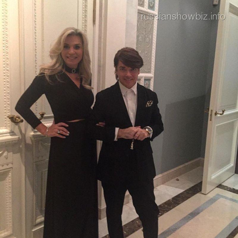 Валентин Юдашкин с женой