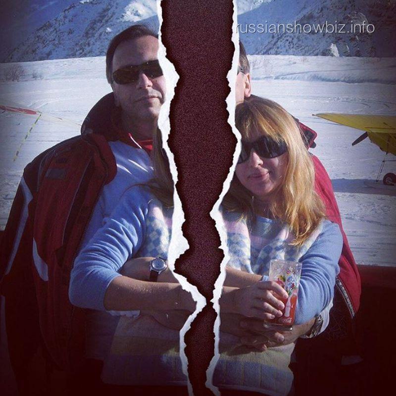 Алена Апина с мужем
