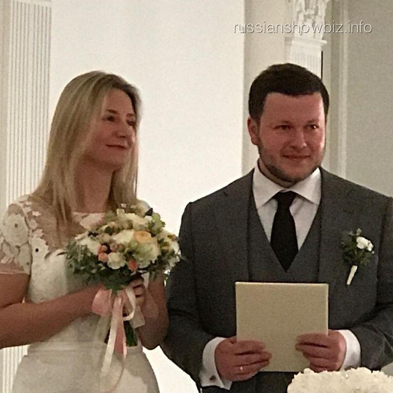 Александр Соловьев с женой