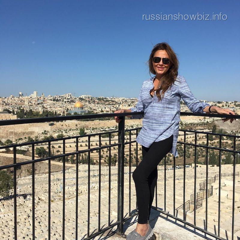 Юлия Началова улетела в Израиль замаливать грехи