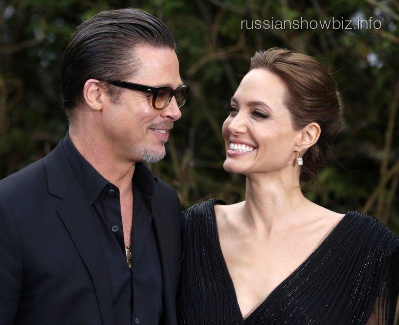 Брэд Питт попросил суд осовместной сАнджелиной Джоли опеке над детьми