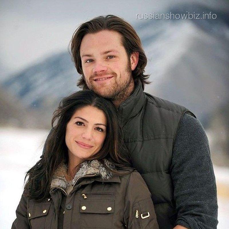 Джаред Падалеки с женой