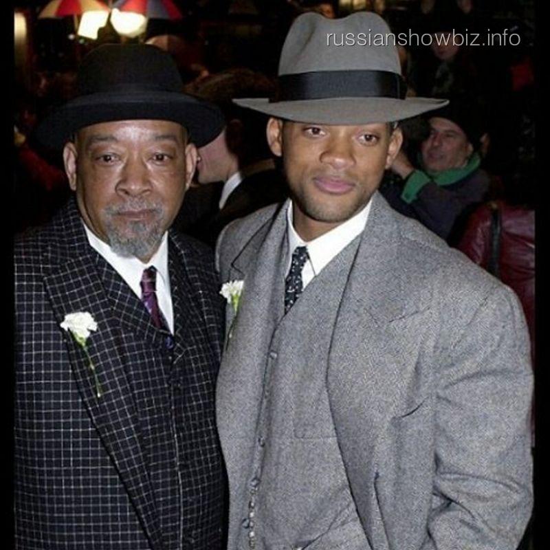 Уилл Смит с отцом