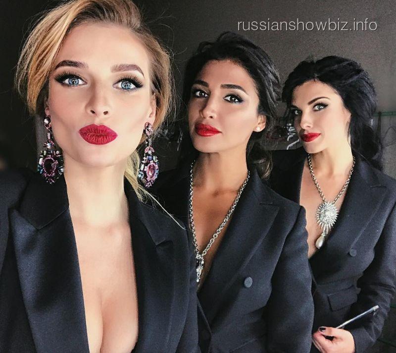 Татьяна Котова, Санта Димопулос и Ольга Романовская