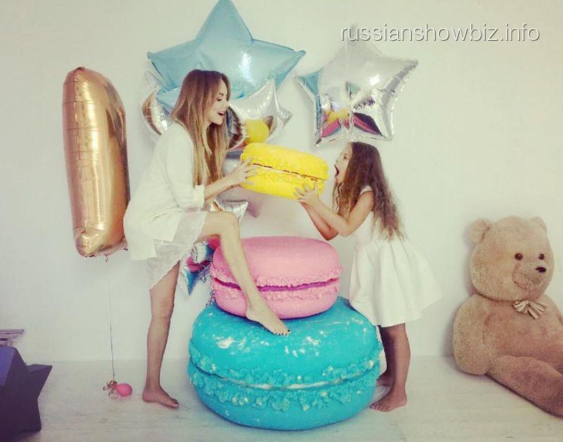 МакSим с дочерью