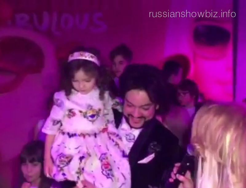 Филипп Киркоров устроил роскошный юбилей дочери
