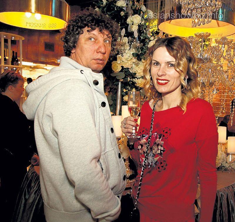 Елизавета Круцко с мужем