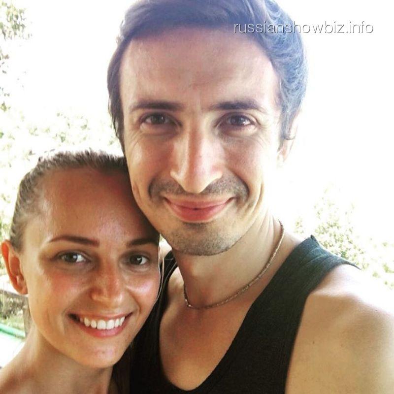 Алексей Лемар с женой