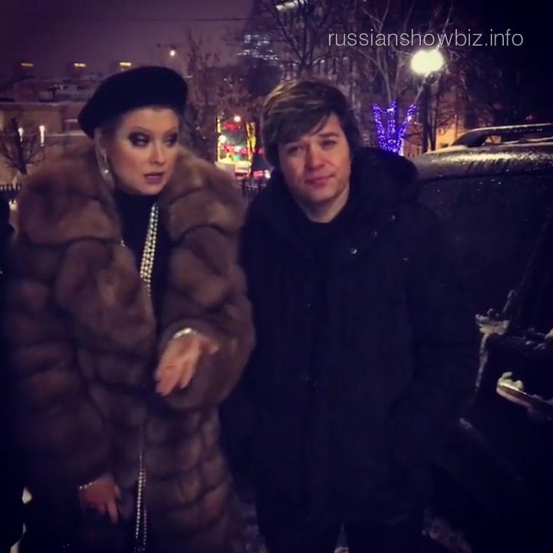 Лена Ленина и Вячеслав Жеребкин