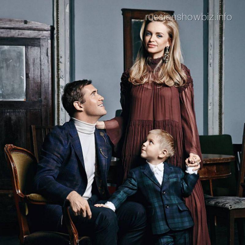 Александр иМилана Кержаковы проинформировали пол будущего ребенка