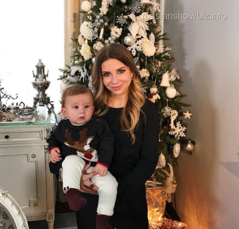 Галина Юдашкина с сыном