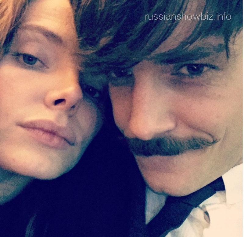 Лиза Боярская с мужем