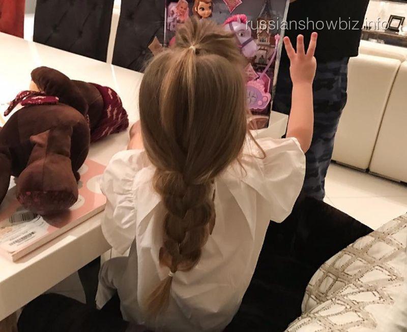 Кристина Асмус обнародовала фото дочери веедень рождения
