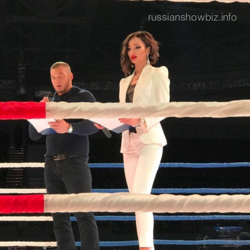 Ольга Бузова провела боксерские бои ММА вПензе