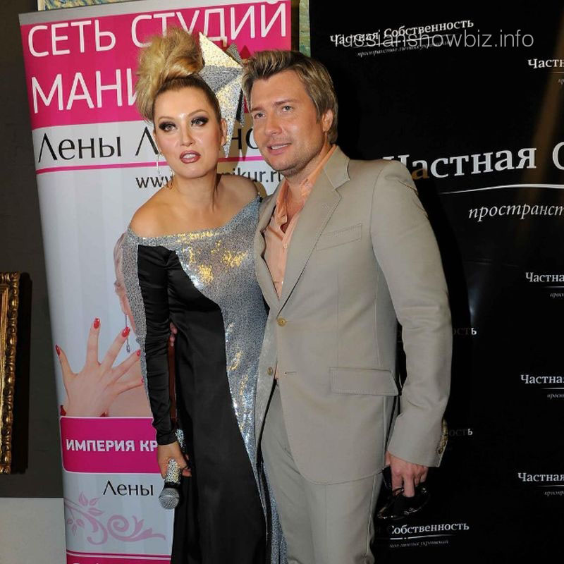 Лена Ленина и Николай Басков