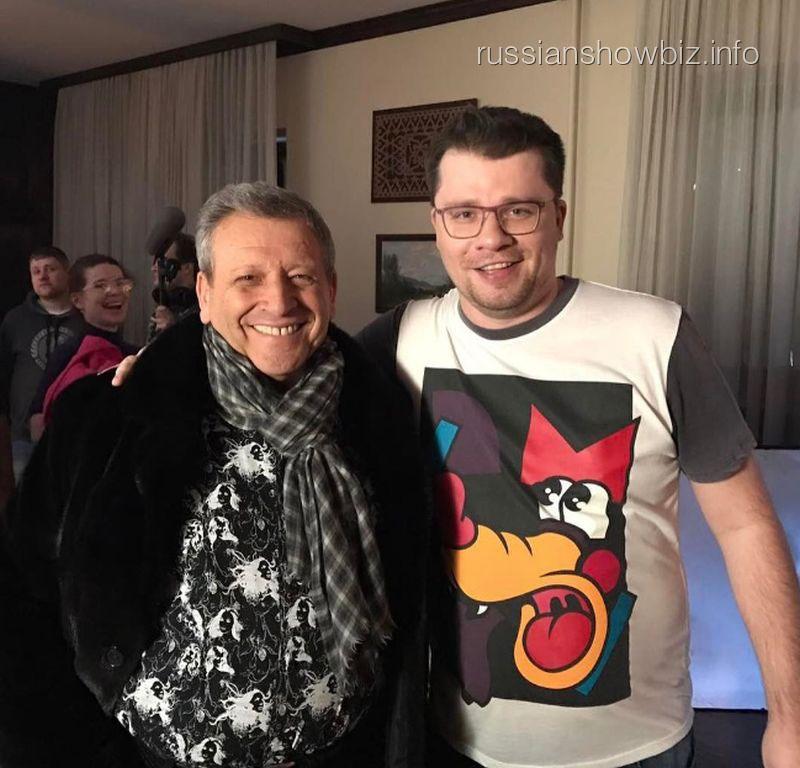 Борис Грачевский и Гарик Харламов