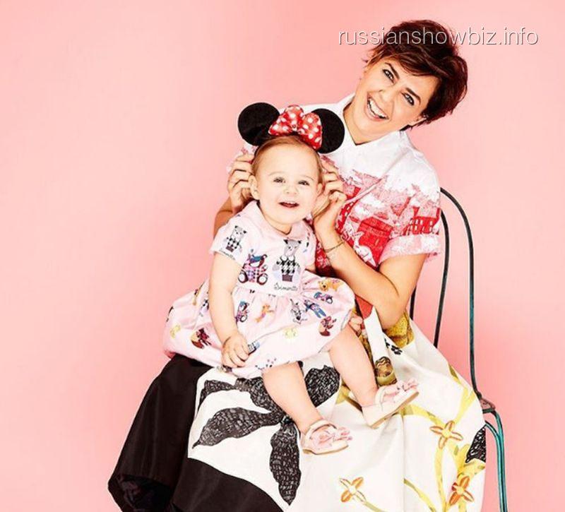 Ольга Шелест с дочерью (фото - Дочки-матери)
