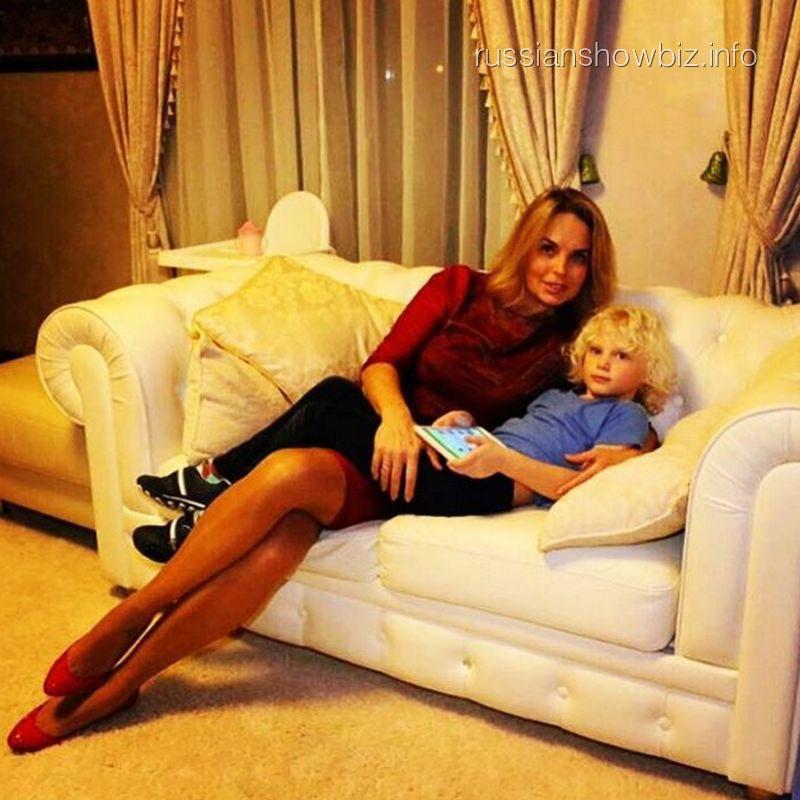 Анастасия Калманович с сыном