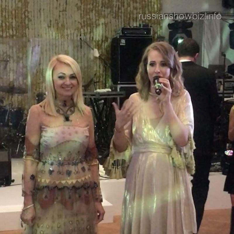 Яна Рудковская и Ксения Собчак