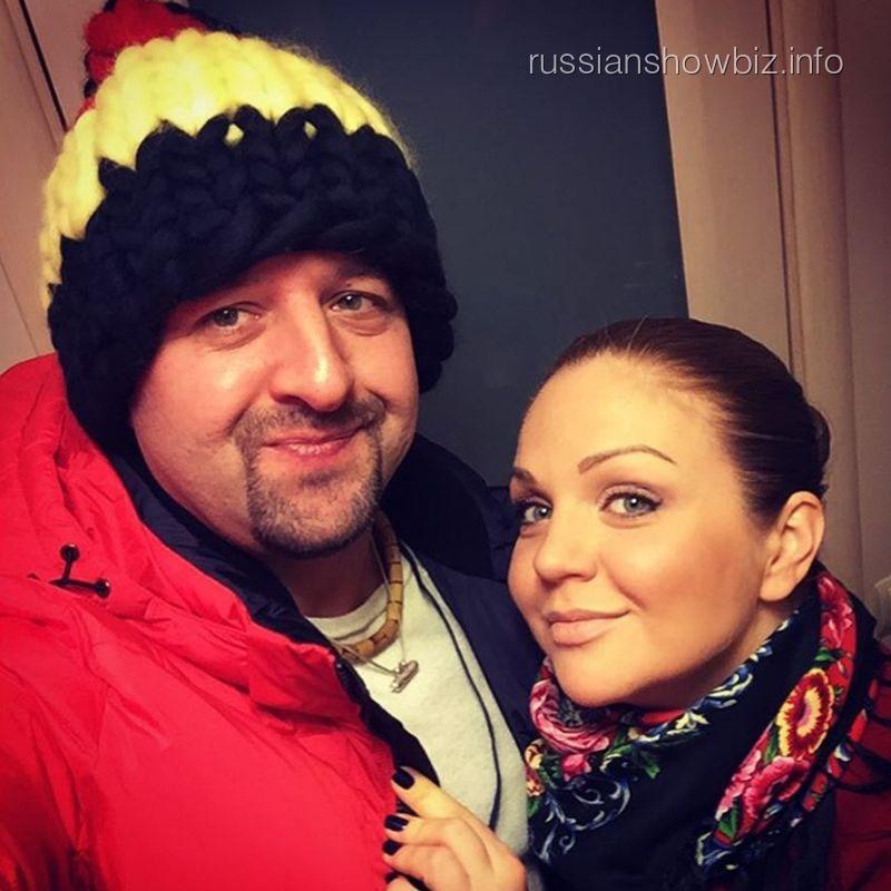 Марина Девятова с мужем