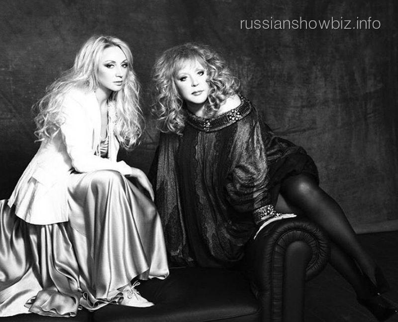Кристина Орбакайте снялась в фотосессии с Пугачевой