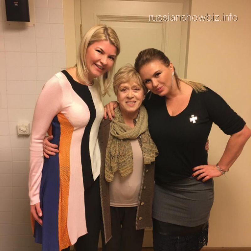 Алиса Фрейндлих и Анна Семенович