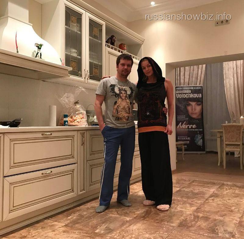 Михаил Борисовский и Анастасия Волочкова