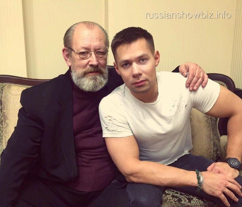 Стас Пьеха с отцом