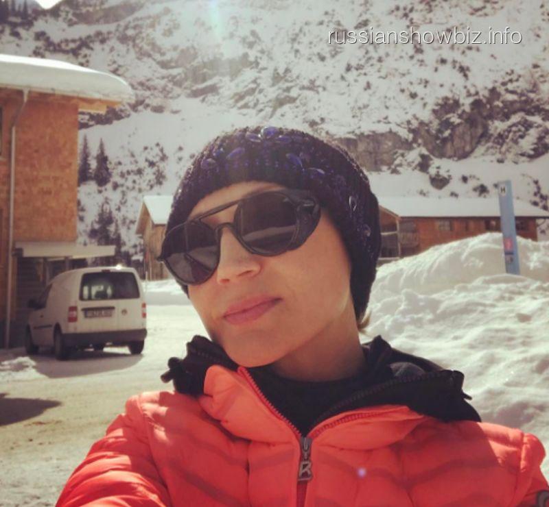 Кристина Орбакайте покорила Альпы