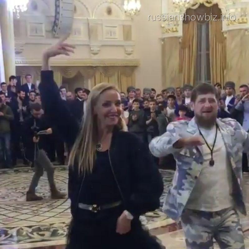 Татьяна Навка и Рамзан Кадыров