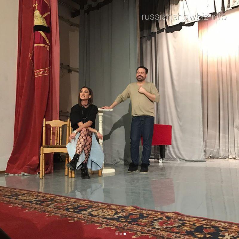 Ольга Бузова и Антон Лирник