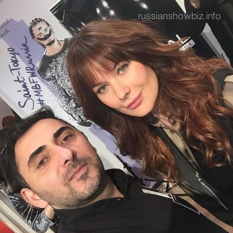 Оксана Федорова на модном показе