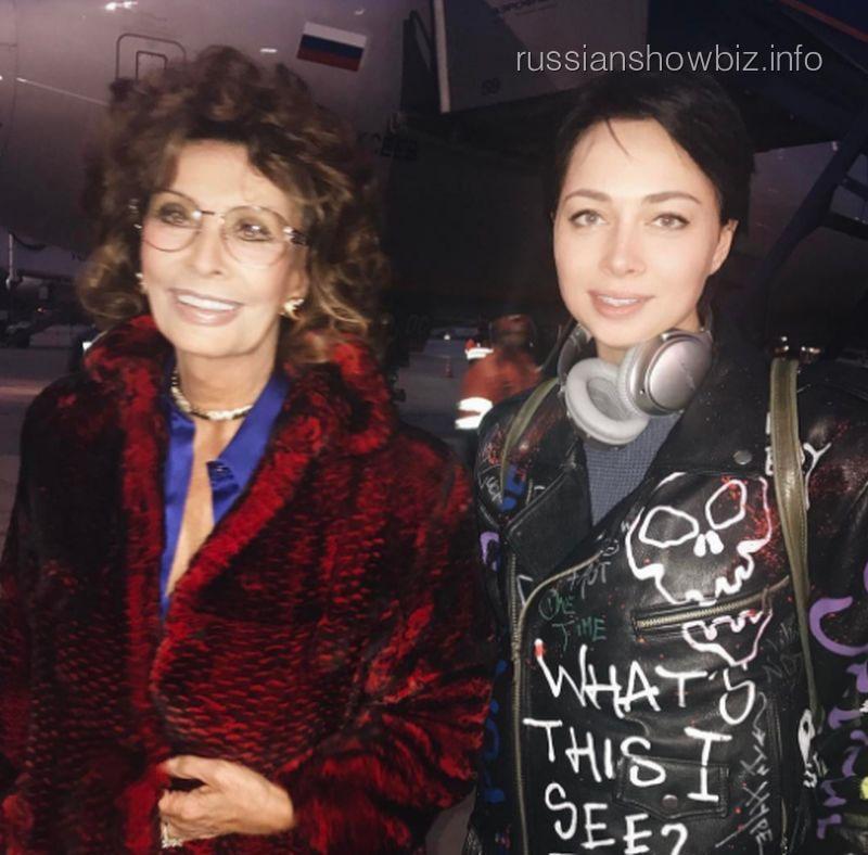 Софи Лорен и Настасья Самбурская
