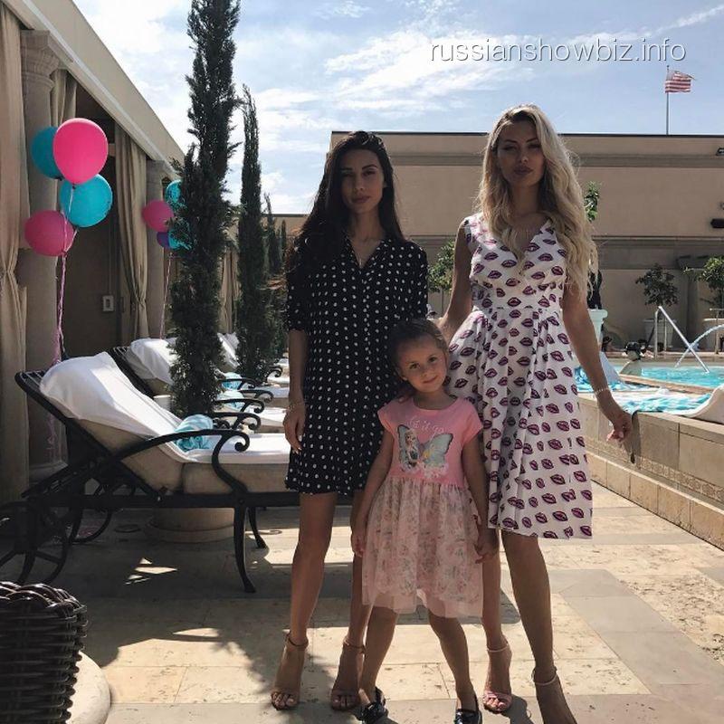 Виктория Боня отпраздновала первый юбилей дочери в Беверли-Хиллз