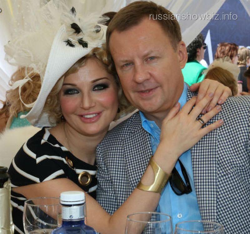 Мария Максакова с мужем