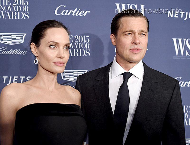 Анджелина Джоли помирилась с Питтом