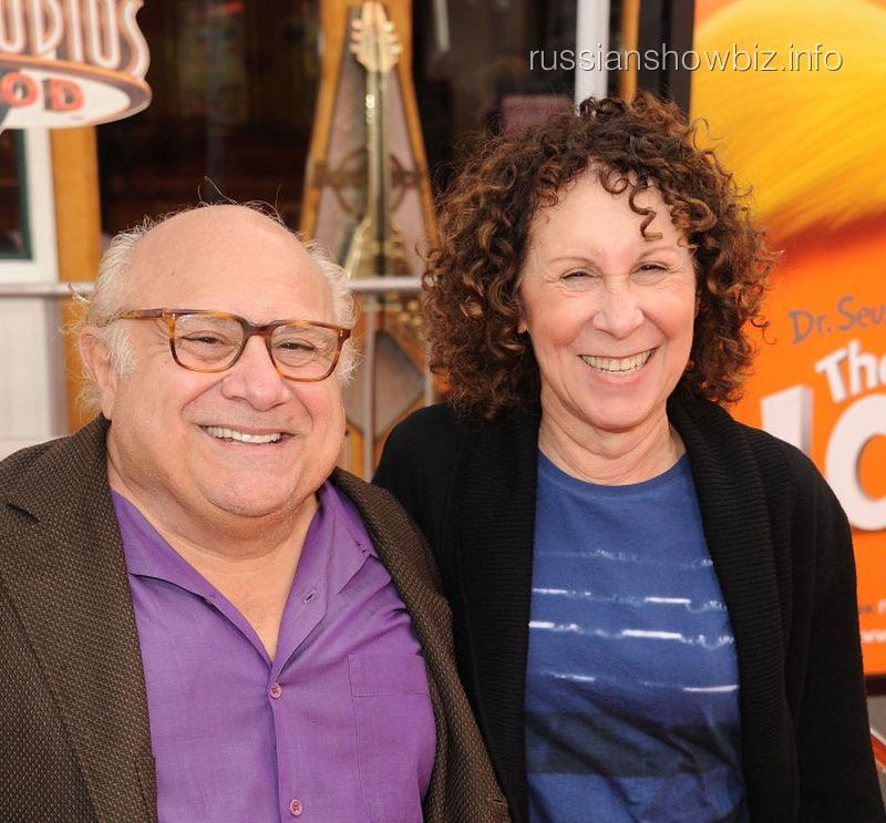 Дэнни Де Вито с женой