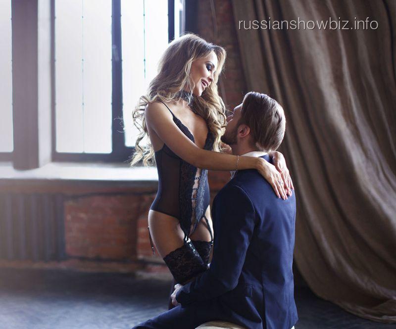 Анна Калашникова с возлюбленным