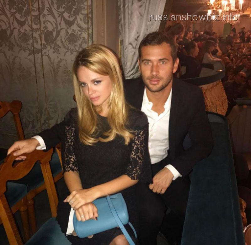 Александр Кержаков с женой